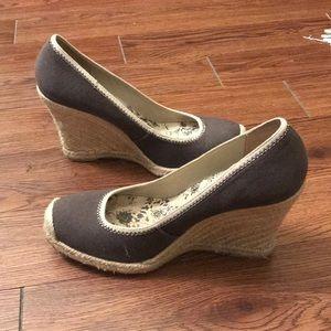 BR heeled espadrilles